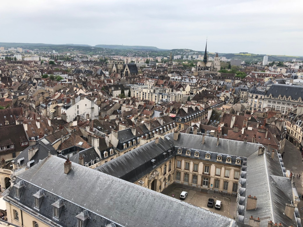 dijon from tower